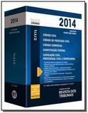 Rt mini codigo 2014 codigo civil, codigo de proces - Revista dos tribunais
