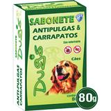 Sabonete Anti Pulgas Sanol Dog 80g