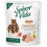 Sabor e Vida Sachê Gatos Filhotes Frango - 85G - Affinity