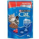 Sachê Cat Chow Carne para Gatos Filhotes - Purina