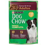 Sachê Dog Chow Carne e Arroz 100g - Purina