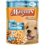 Sache Magnus Frango para Cães Filhote 85 g - Magnus, adimax pet