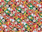 Saco Lic 15X22 Tema Natal Turma Do Mickey Com 40 Unidades - Cromus