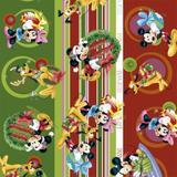 Saco Lic Decorado 30X44 Tema Natal Disney Com 100 Unidades - Cromus