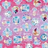 Saco P/Presente Frozen Disney 20X29Cm C/40 Un. - Cromus