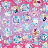 Saco P/Presente Frozen Disney 31X17,5Cm C/40 - Cromus