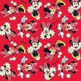 Saco P/Presente Minnie Disney Vermelho 90,7X32,5Cm C/25 - Cromus