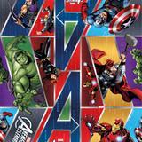 Saco P/Presente Os Vingadores Heroes Marvel 20X29 40Unid. - Cromus
