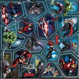 Saco Presente Os Vingadores Heroes Marvel 38,5X27,8 40Unid. - Cromus