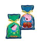 Sacola Plástica Surpresa George Pig 08 unidades Regina Festas