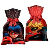 Sacola Surpresa Miraculous Ladybug 08 unidades Regina Festas