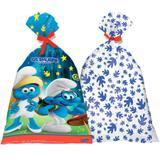 Sacola Surpresa Smurfs 08 unidades Festcolor