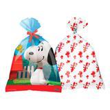 Sacola Surpresa Snoopy 08 unidades Festcolor
