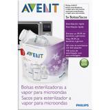 Sacos para Esterilização no Micro-ondas - Philips Avent