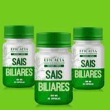 Sais Biliares 300 mg - 60 cápsulas (KIT com 03 potes)