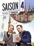Saison 4 cahier + cd audio (b2) - Didier/ hatier