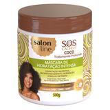 Salon Line S.O.S Cachos Coco - Máscara de Hidratação Intensa