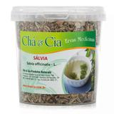 Salvia (Salvia Officinalis)  Pote 60grs - Cha e Cia