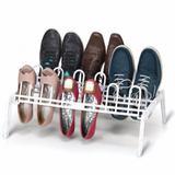Sapateira de Chão Branca para até 9 Pares de Sapatos Secalux 0281021 Organizador Quartos e Closets