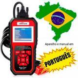 Scanner Automotivo Konnwei Kw850 Obd2 em Português BM19010 - Lorben