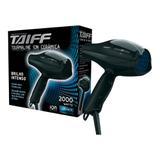 Secador de cabelos taiff tourmaline íon cerâmica com 2000w, 5 temperaturas e 2 velocidades - 110v - Taiff