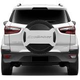 Semi Capa de Estepe Rígida Ford Ecosport 13 14 15 16 17 18 Branco Ártico Aro 15 16 17 - Marçon
