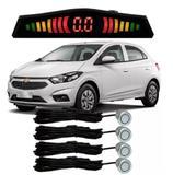Sensor de estacionamento Ré Chevrolet Onix todos Prata - Overvision
