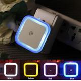 Sensor de Luz Noturna LED Branca com Sensor Automático Inteligente Escuro - Light control