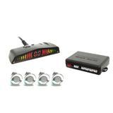 Sensor De Ré 22mm c/ Conector Display Led Cromado - Overvision
