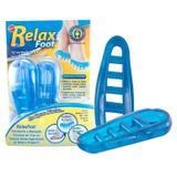 Separador Dedo Relax Foot Azul Único Bilateral Par 1040 - Orthopauher