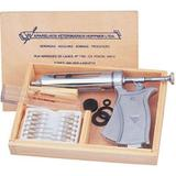 Seringa Veterinária R113 Tipo Pistola Automática c/ Estojo 50ml - Hopnner