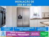 Serviço de instalação de refrigerador side by side (agende sua instalação/números na foto) - Cdf