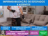 Serviço especializado de impermeabilização de sofá de até 4 assentos - Cdf