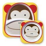 Set Pratos Zoo Macaco Skip Hop