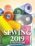 Sewing 2019 Calendar - Gumdrop press