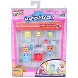 Shopkins Happy Places Kit Decoração Sala Cachorrinhos Dtc