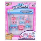 Shopkins Happy Places Quarto Ursinhos Kit Decoração - Dtc