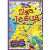 Siga Jesus - Livro com Pôster de Adesivos - Casa publicadora assembleia de deus
