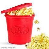 Silicone Popcorn Popper - Hudson