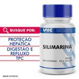 Silimarina 200mg 60 cáps - Unicpharma