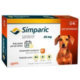 Simparic 5,1 a 10kg 20mg 1 comprimido - Zoetis