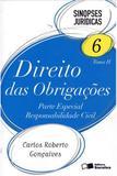 Sinopses Jurídicas 6 - Tomo II - Direito Das Obrigações - Parte Especial - Responsabilidade Civil - 9ª Ed. 2012 - Editora saraiva