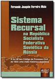 Sistema recursal - na republica socialista federat - Jurua