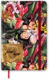 Sketchbook Floral Hype por Albino Papa 80 g/m² 14,0 x 21,0 cm com 160 Páginas Cicero