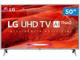 """Smart TV 4K LED 50"""" LG 50UM7500 Wi-Fi - Inteligência Artificial Conversor Digital 4 HDMI"""