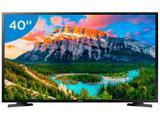 """Smart TV LED 40"""" Samsung J5290 Full HD - Wi-Fi Conversor Digital 2 HDMI 1 USB"""