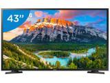 """Smart TV LED 43"""" Samsung Series 5 J5290 Full HD - Wi-Fi Conversor Digital 2 HDMI 1 USB"""