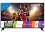 "Smart TV LED 55"" LG Full HD 55LJ5550 WebOS - Conversor Digital Wi-Fi 2 HDMI 1 USB"