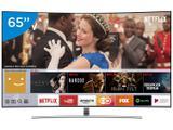 "Smart TV QLED Curva 65"" Samsung 4K/Ultra HD - QN65Q8CAMGXZD Conversor Digital 4 HDMI 3 USB"