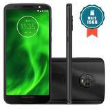 Smartphone Motorola Moto G6 64GB Dual Chip Tela 5.7 Octa-Core 1.8 GHz 4G Câmera 12 + 5MP (Dual Traseira) - Preto + Cartão SD 16GB
